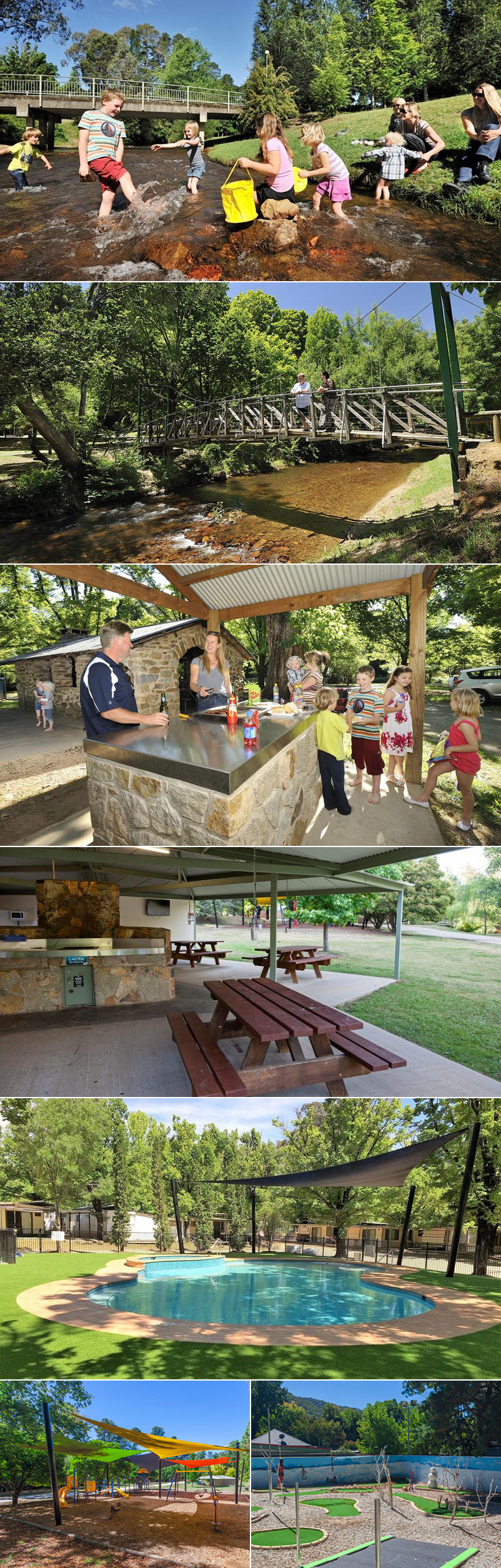 NRMA Bright Holiday Park - Grounds and facilities