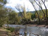 Bright / Howitt Park, Centenary Park, Ovens River / View west along Ovens River, Howitt Park