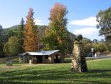 Bright / Howitt Park, Centenary Park, Ovens River / Centenary Park, BBQ shelter at Mountbatten Rd