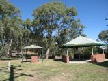 Broadford / Lions Park, High Street at Sunday Creek / BBQ and picnic shelters, east side of creek