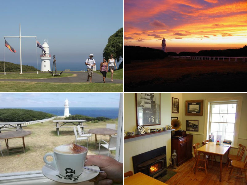 Cape Otway Lightstation - The lighthouse, grounds and cafe