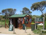 Cape Schanck / Walking tracks and lookouts around car park at end of Cape Schanck Road / Kiosk at car park