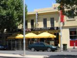 Carlton / Lygon Street, commercial centre and restaurants / Toto's Pizza House, Lygon St just north of Queensberry St