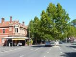 Carlton / Lygon Street, commercial centre and restaurants / View south along Lygon St at Pelham St