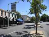 Carlton / Lygon Street, commercial centre and restaurants / View north along Lygon St towards Grattan St