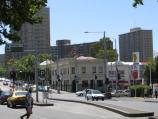 Carlton / Lygon Street, commercial centre and restaurants / View north along Lygon St towards Elgin St