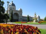 Carlton / Exhibition Building, Carlton Gardens / Southern entrance and fountain
