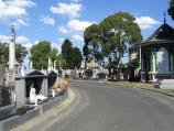 Carlton / Melbourne General Cemetery, College Crescent, Carlton North / First Av