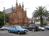 Castlemaine / Shops and commercial centre - Barker, Mostyn and Lyttleton Streets / Presbyterian Church, Lyttleton St between Kennedy St and Barker St