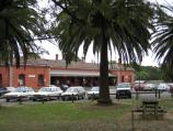 Castlemaine / Castlemaine railway station, Kennedy Street / Gardens beside railway station
