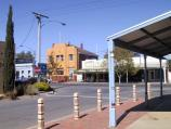 Charlton / Shops and commercial centre, High Street (Calder Highway) / View south-west along John Curtin Dr towards High St