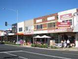 Chelsea / Shops and commercial centre along Nepean Highway / Shops along west side of Nepean Hwy just south of The Strand