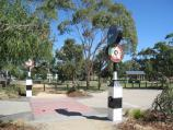 Chelsea / Bicentennial Park / Car park crossing to playground near Scotch Pde