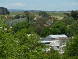 Clunes / Esmond Park, Scenic Drive / South-easterly view from lookout towards junction of Fraser St and Service St