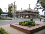 Cobram / Commercial centre and shops / Grand Central Hotel, corner Punt Rd and Terminus St