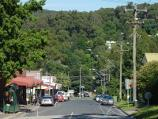 Cockatoo / Shops and commercial centre, McBride Street / View west along McBride St from Gembrook Rd
