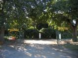Colac / Botanic Gardens, Fyans Street / Entrance to Botanic Gardens, Fyans St at Queen St