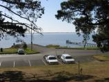 Colac / Lake Colac near Botanic Gardens / View towards boat ramp and jetty