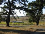 Colac / Red Rock Reserve playground / View towards Red Rock Winery