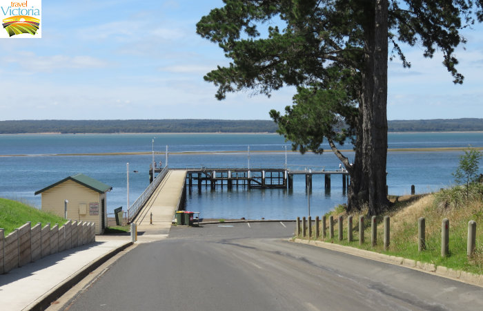 Corinella - Corinella Jetty viewed from Peters Street