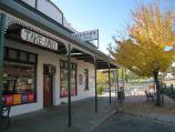 Corryong / Shops and commercial centre, Hansen Street / Tallulah's cafe, corner Hansen St and Donaldson St