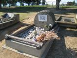 Corryong / Corryong cemetery and surroundings / Grave of Jack Riley (Man from Snowy River)