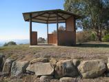 Corryong / Playles Lookout, Back Thowgla Road / Lookout shelter
