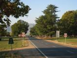 Corryong / Town of Towong, north-east of Corryong / View north-east along Murray River Rd towards Hume St