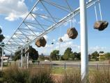 Cranbourne / Meteorite display and park, corner South Gippsland Highway and Camms Road / Meteorite display