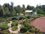 Cranbourne / Australian Garden at Royal Botanic Gardens Cranbourne / View from visitor centre towards Dry River Bed