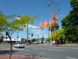 Croydon / Shops and commercial centre, Main Street, Hewish Road and Lacey Street / View south along Main St towards Mt Dandenong Rd