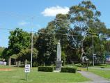 Croydon / Anzac Square, Wicklow Avenue at Croydon Road / View north across square towards Croydon Primary School