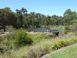 Croydon / Candlebark Walk Reserve, Lakeside Crescent / Easterly view through park towards lake