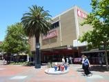 Dandenong / Palm Plaza Mall and McCrae Street / View south-east along Palm Plaza towards Dimmeys