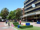 Dandenong / Palm Plaza Mall and McCrae Street / South-easterly view through Palm Plaza in front of Dandenong Hub Arcade