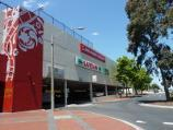 Dandenong / Dandenong Plaza Shopping Centre / View south-east along McCrae St at underground car park entrance