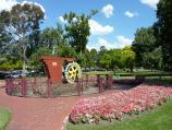 Dandenong / Dandenong Park, Foster Street and Pultney Street / Rotary Waterwheel fronting Foster St