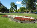 Dandenong / Dandenong Park, Foster Street and Pultney Street / Flower bed fronting Pultney St