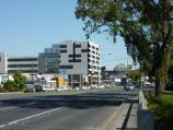 Dandenong / Lonsdale Street south of Foster Street / View north-west along Lonsdale St at Dandenong Creek bridge