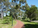 Dandenong / Rotary Park, Lonsdale Street / Pathway along Dandenong Creek towards Lonsdale St
