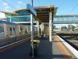 Dandenong / Dandenong railway station, Foster Street / Easterly view along station platform