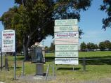 Dandenong / Greaves Reserve, Bennet Street / Main entrance to reserve at Bennet St