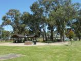 Dandenong / John Hemmings Memorial Park, Princes Highway / BBQ shelter and picnic area