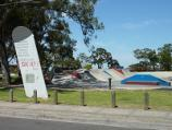 Dandenong / John Hemmings Memorial Park, Princes Highway / View across park towards oval