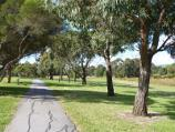 Dandenong / Tirhatuan Park, off Outlook Drive / Pathway along west side of southern lake