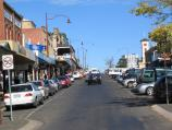Daylesford / Commercial centre and shops / View south along Vincent St from Albert St