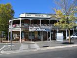 Daylesford / Commercial centre and shops / Royal Hotel, corner Vincent St and Albert St