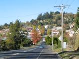 Daylesford / Around town / View east along Albert St from Perrins St