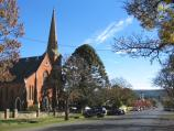 Daylesford / Around town / Uniting Church, west along Central Springs Rd from Camp St