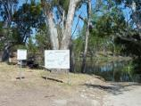 Dimboola / Wimmera River at boat ramp, southern end of Lloyd Street / Boat ramp
